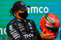 Hamilton and Mercedes equal two major F1 records in one race