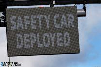 Safety Car Deployed signal, Autodromo do Algarve, 2020