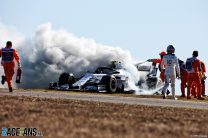 Bottas fastest as second practice is red-flagged twice