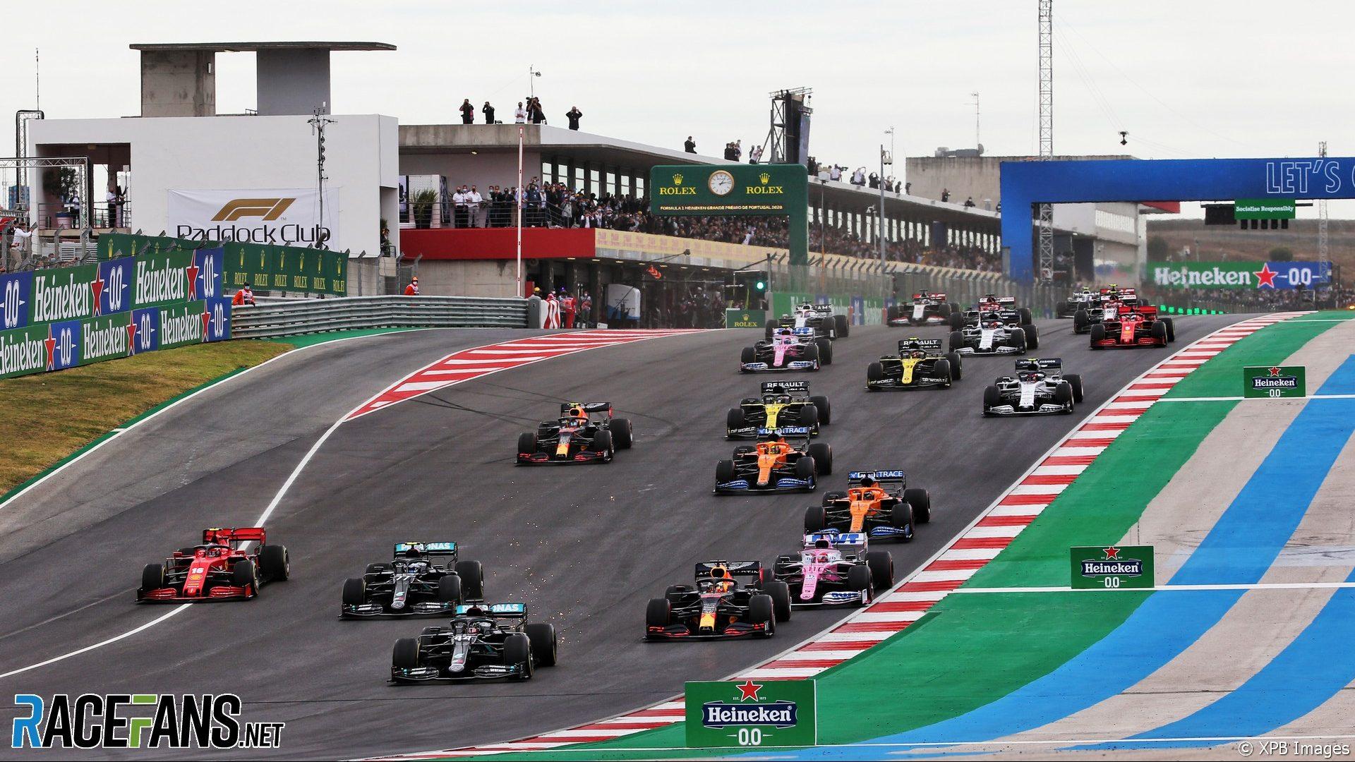 Start, Autodromo do Algarve, 2020