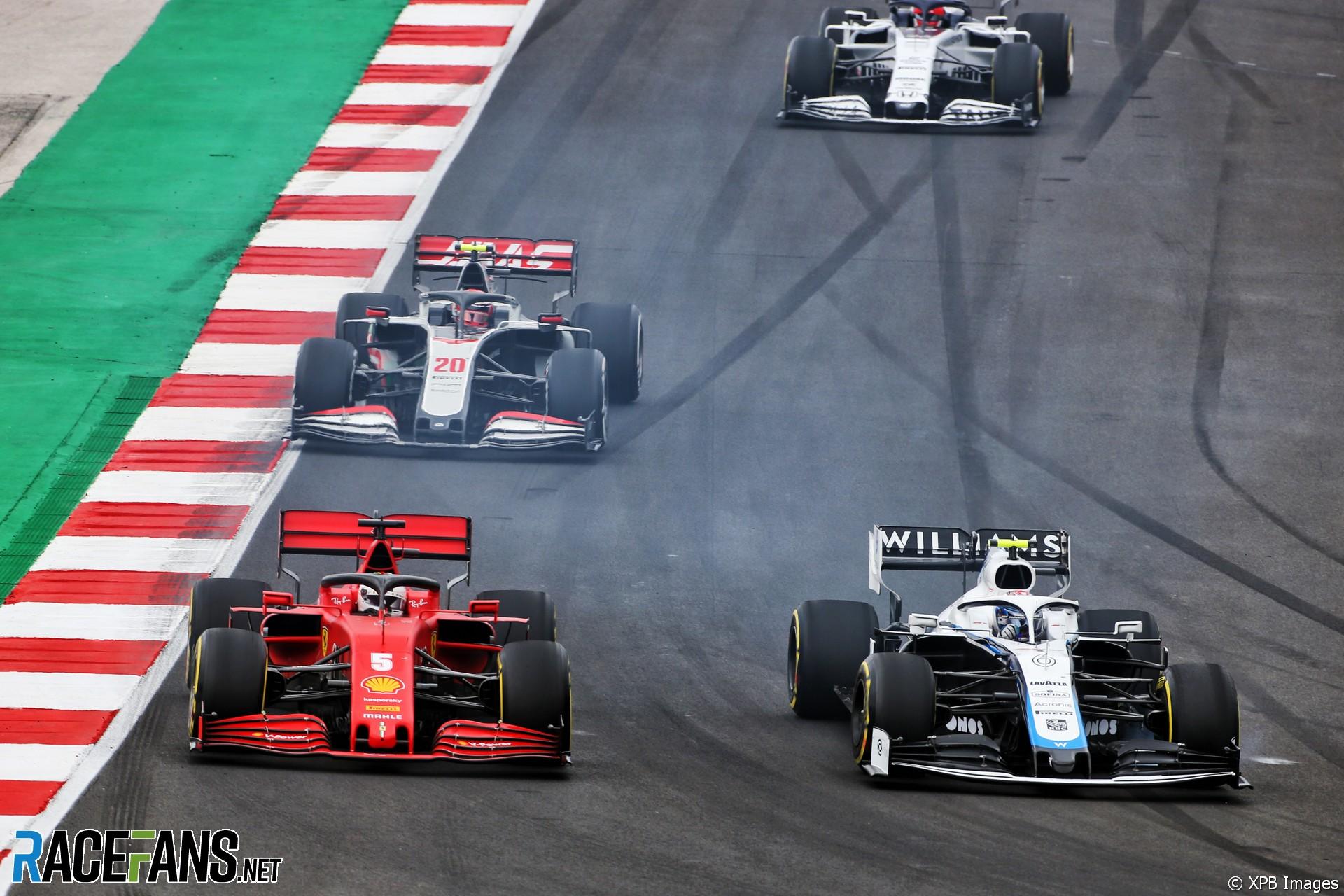 Sebastian Vettel, Nicholas Latifi, Autodromo do Algarve, 2020