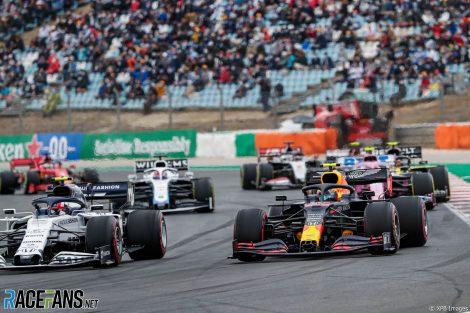 Pierre Gasly, Alexander Albon, Autodromo do Algarve, 2020