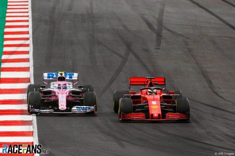 Lance Stroll, Sebastian Vettel, Autodromo do Algarve, 2020