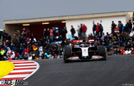 Romain Grosjean, Haas, Autodromo do Algarve, 2020
