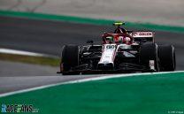 Antonio Giovinazzi, Alfa Romeo, Autodromo do Algarve, 2020