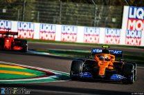 Lando Norris, McLaren, Imola, 2020
