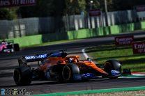 Carlos Sainz Jnr, McLaren, Imola, 2020