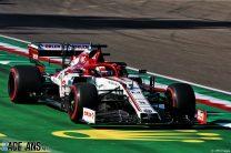 Kimi Raikkonen, Alfa Romeo, Imola, 2020