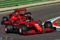 Charles Leclerc, Ferrari, Imola, 2020