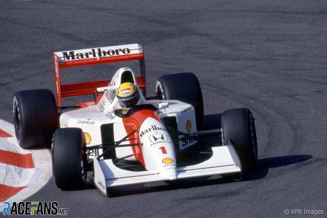 Ayrton Senna, McLaren, Spa-Francorchamps, 1992