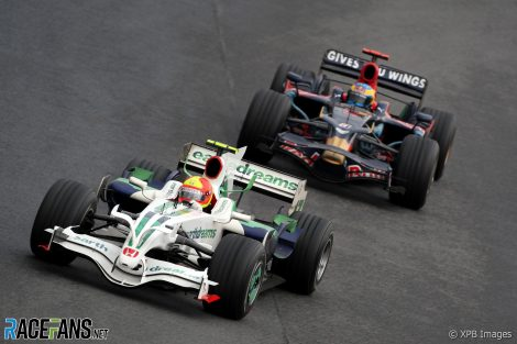 Rubens Barrichello, Honda, Interlagos, 2008