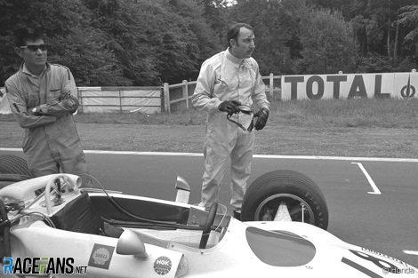 Jo Schlesser, Honda, Rouen, 1968