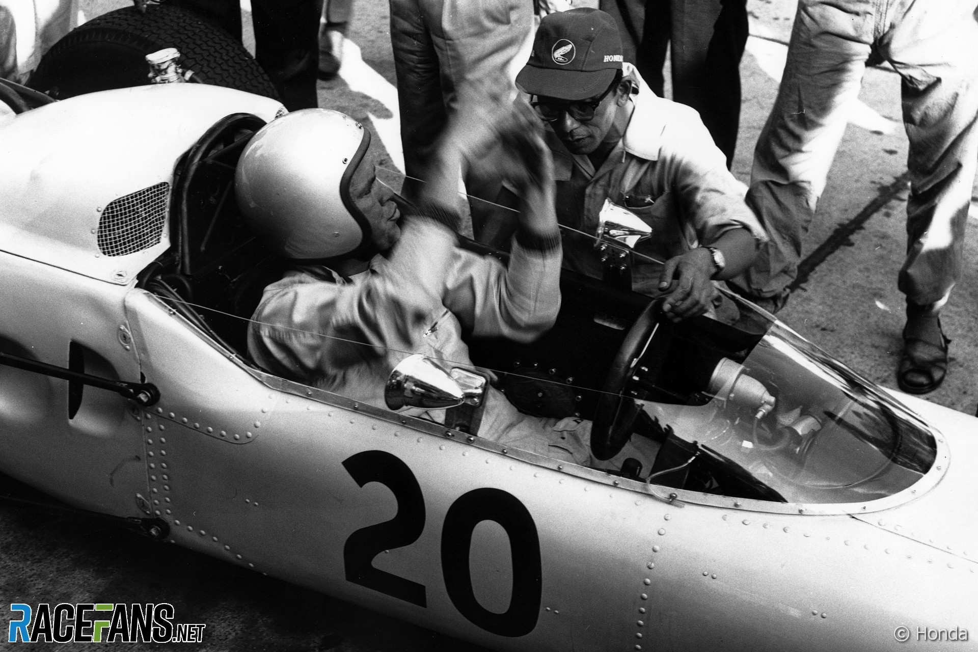 Ronnie Bucknum, Honda, Nurburgring, 1964