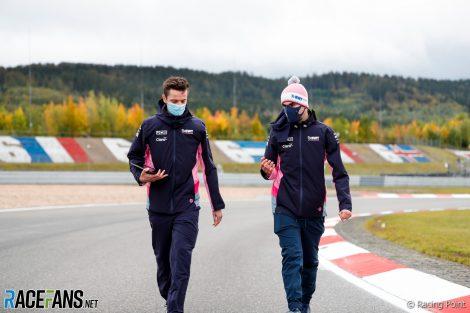 Lance Stroll, Racing Point, Nurburgring, 2020