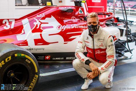 Mick Schumacher, Alfa Romeo, Nurburgring, 2020