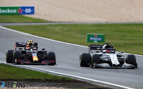 Alexander Albon, Red Bull, Nurburgring, 2020