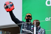 """Hamilton thought he'd never get """"anywhere near"""" Schumacher's win record"""