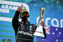 Wolff: Hamilton's dominance isn't only because he drives a Mercedes