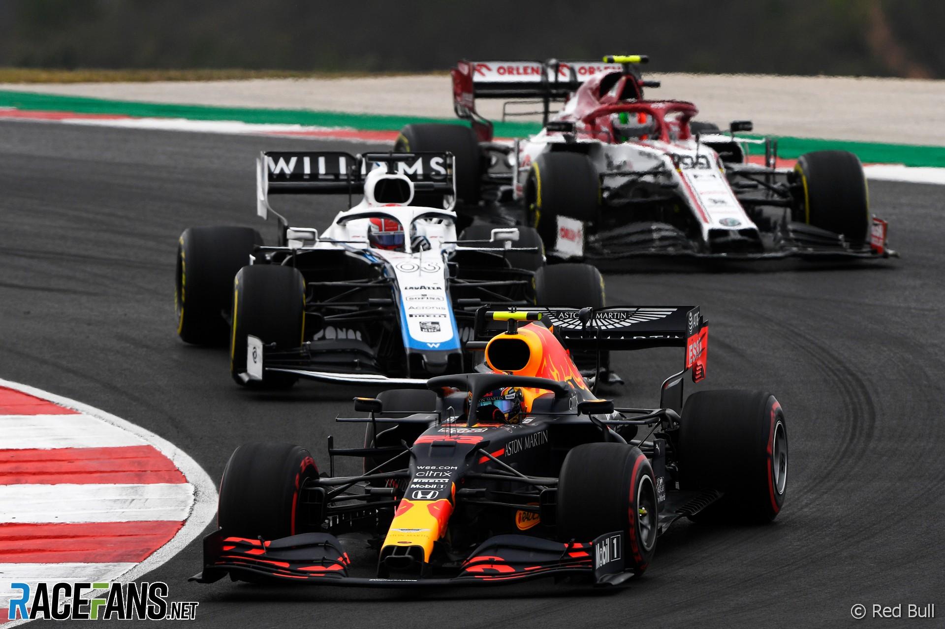 Alexander Albon, Red Bull, Autodromo do Algarve, 2020