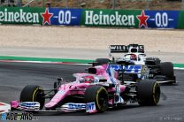 Perez collects second reprimand for another incident with Gasly