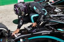 Mercedes set to win constructors' title at Imola, Hamilton's coronation will have to wait