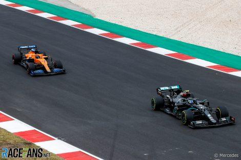 Valtteri Bottas, Carlos Sainz Jnr, Autodromo do Algarve, 2020