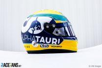 Pierre Gasly's Emilia-Romagna Grand Prix helmet, 2020