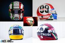 Emilia-Romagna GP helmets: Gasly's Senna replica and Italy tributes
