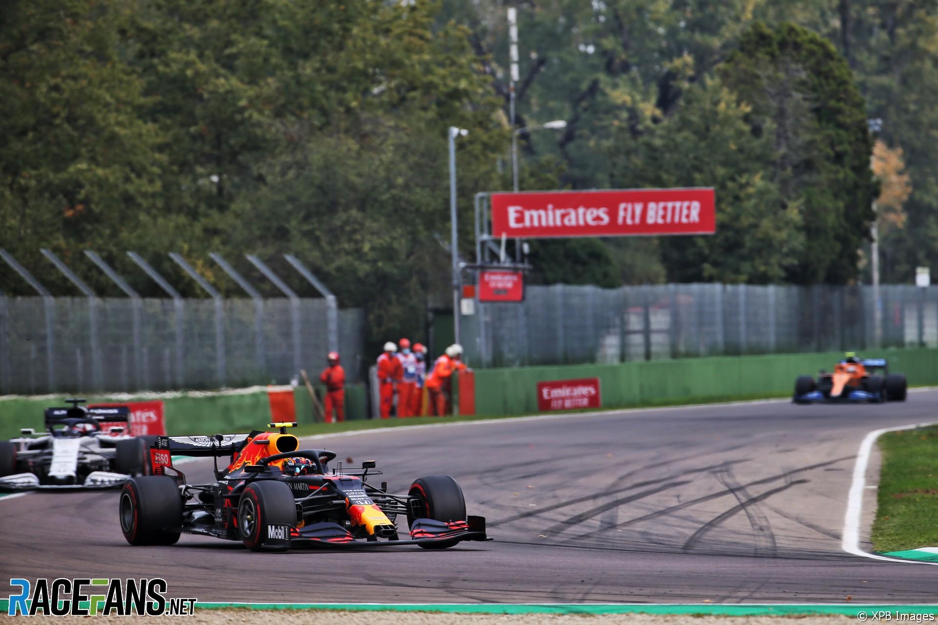 Alexander Albon, Red Bull, Imola, 2020
