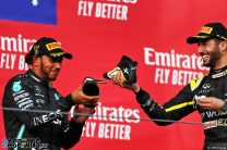 Hamilton can clinch title at next race after out-running Bottas for Imola win