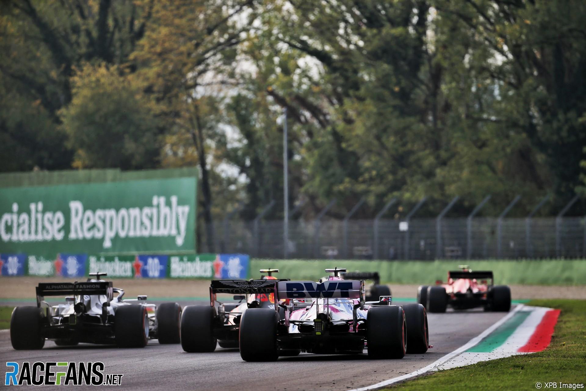 Sergio Perez, Racing Point, Imola, 2020