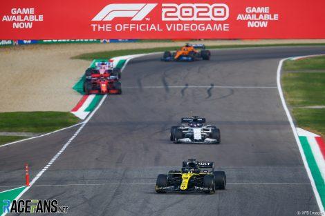 Daniel Ricciardo, Renault, Imola, 2020