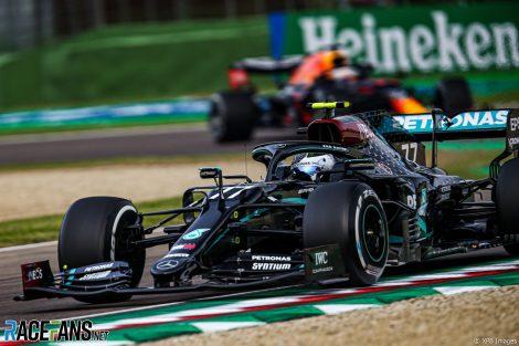 Valtteri Bottas, Mercedes, Imola, 2020