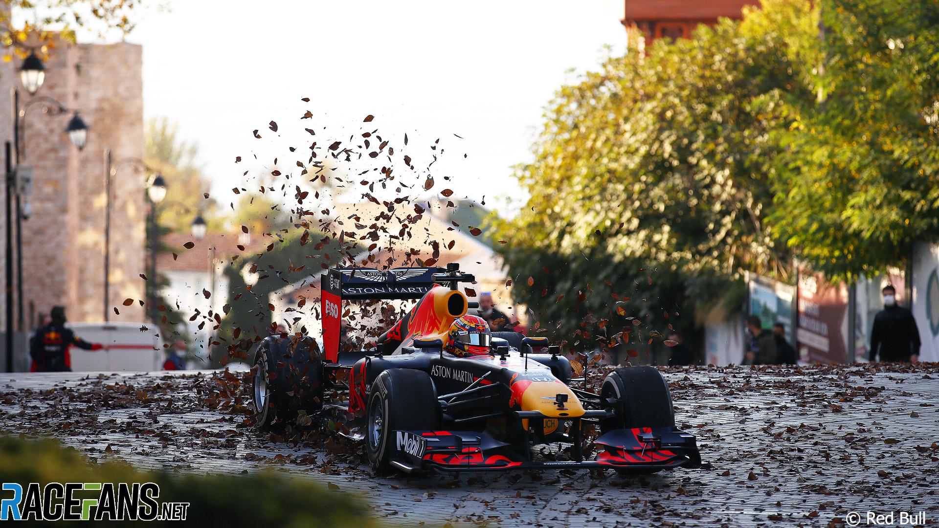 Alexander Albon, Red Bull, Istanbul, 2020