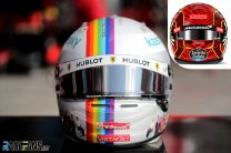 Vettel reveals special Turkish GP helmet – Norris's gets stuck at customs