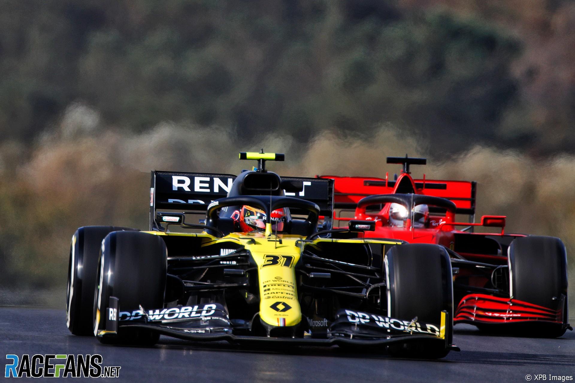 Esteban Ocon, Renault, Istanbul Park, 2020