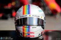 Sebastian Vettel's 2020 Turkish Grand Prix helmet