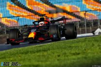 Verstappen stays ahead as lap times tumble in second practice