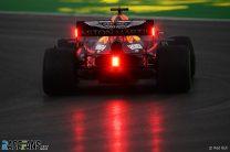 Verstappen makes it three out of three in treacherous, rain-hit session