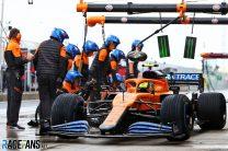 Lando Norris, McLaren, Istanbul Park, 2020