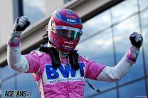 Shock pole for Stroll in rain-hit Istanbul qualifying