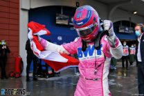 """Stroll """"shocked"""" by first career pole position"""