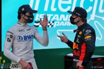 Stroll vs Verstappen for the win, Perez vs Albon for a Red Bull seat?
