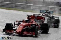 Sebastian Vettel, Ferrari, Istanbul Park, 2020