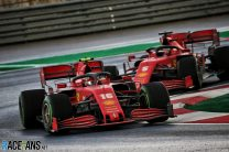 """Sainz """"very encouraged"""" by Ferrari's improved performance in recent races"""