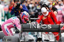 Sergio Perez, Sebastian Vettel, Lewis Hamilton, Istanbul Park, 2020