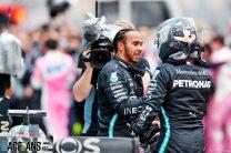 Lewis Hamilton, Valtteri Bottas, Mercedes, Istanbul Park, 2020