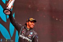 """Hamilton intends to stay in F1 and """"not ignore human rights issues in countries we go to"""""""