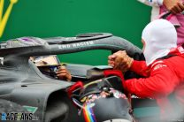 Lewis Hamilton, Sebastian Vettel, Istanbul Park, 2020