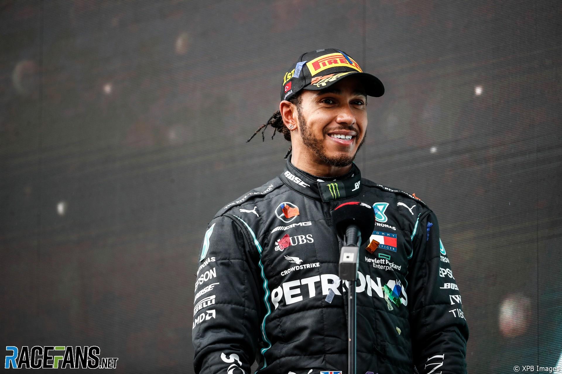 Lewis Hamilton, Mercedes, Istanbul Park, 2020
